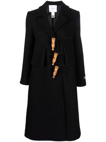 Black Appeau duffle coat