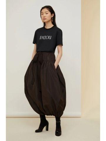 Black organic cotton T-shirt