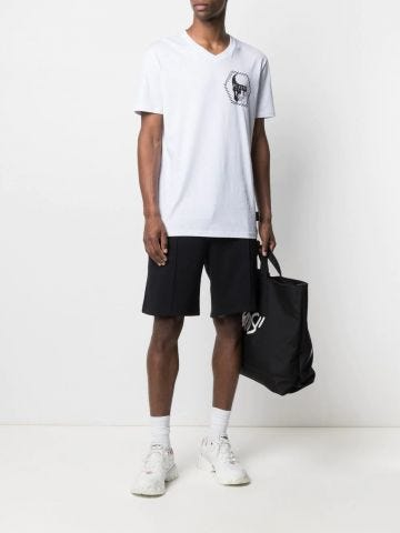 Black sport shorts
