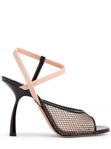 Black Irving sandals