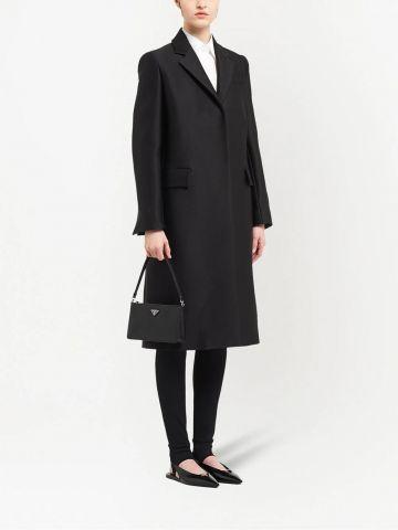 Black Saffiano leather mini bag