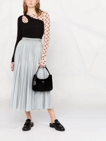 Black Re-Edition 2000 shearling handbag