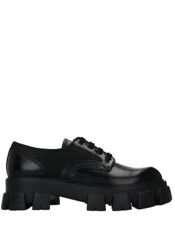 Derby flatform shoe