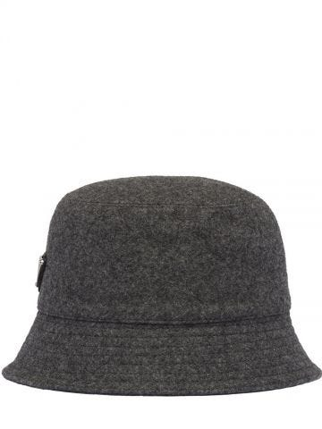 Loden gray hat