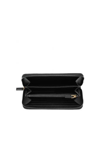 Black Saffiano Leather Wallet