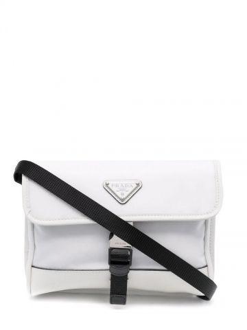 White logo smartphone shoulder bag