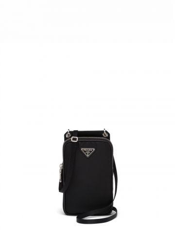Black Re-Nylon smartphone case