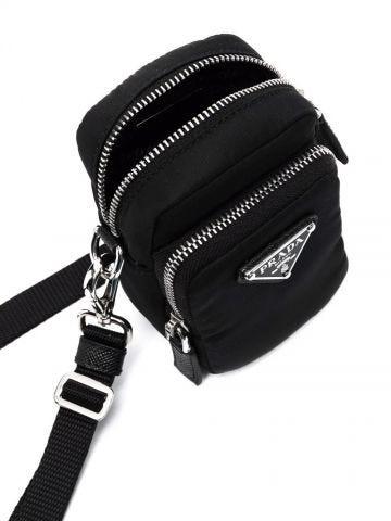 Black logo mini bag
