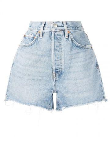 Vintage blue denim shorts