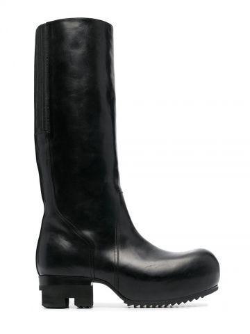 Black Ballast knee-high boots