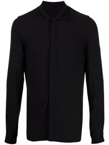 Black viscose shirt