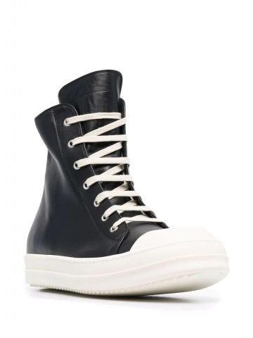 Black high sneakers