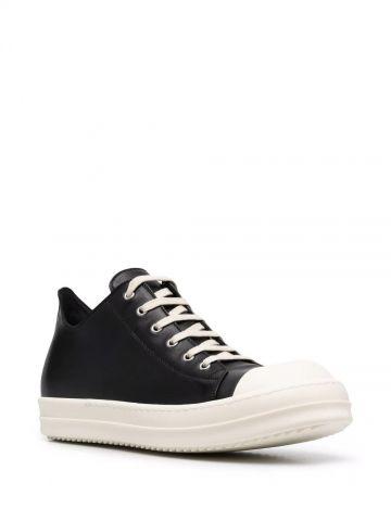 Low black sneakers