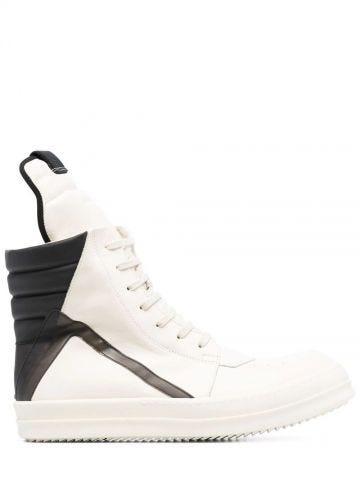 White Geobasket high sneakers