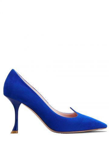 Blue I Love Vivier Pumps