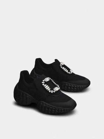 Viv' Run Light Strass Buckle Sneakers