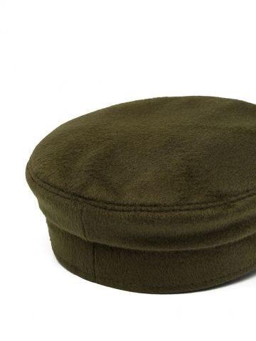 Cappello baker boy verde