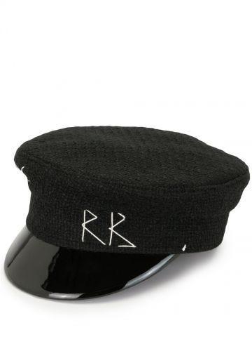 Cappello baker boy nero