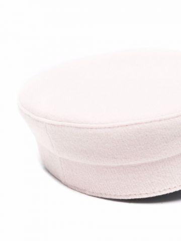 Pink baker boy hat