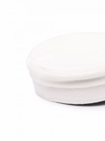 Cappello baker boy bianco