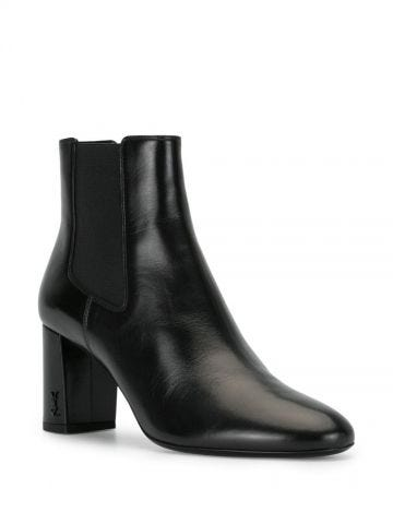 Black Loulou Chelsea boots