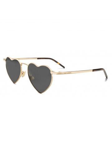 YSL New Wave SL 301 Loulou sunglasses gold