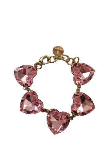 Ex Heart pink bracelet by Silvia Gnecchi x Gente Roma