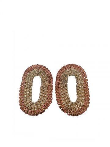 Pink Medium Liberty earrings Silvia Gnecchi x Gente Roma