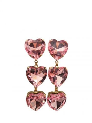 Pink My Heart earrings Silvia Gnecchi x Gente Roma