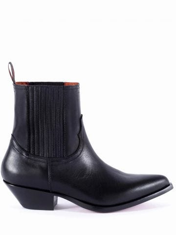 Black Hidalgo Chelsea boots