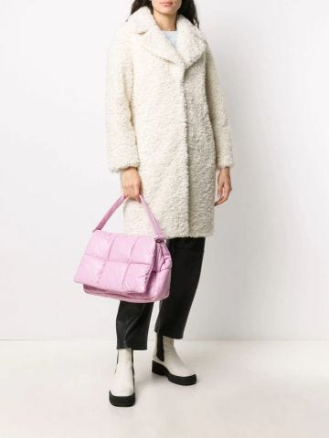 Camille Cocoon Coat White