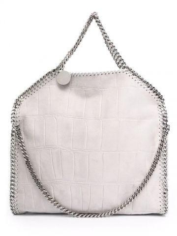 Grey Falabella foldover bag