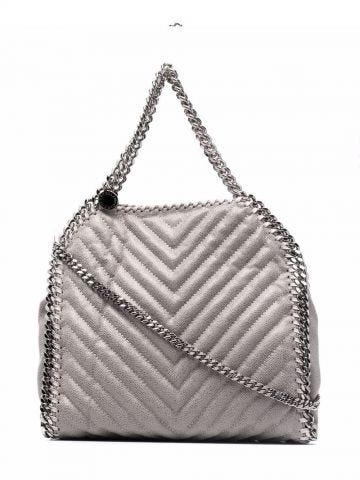 Grey Falabella Mini Tote bag