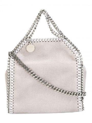 Falabella gray shoulder bag