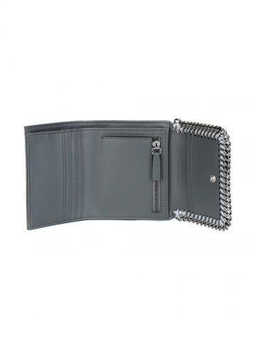 Grey Falabella Small Flap Wallet