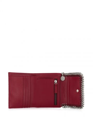 Red Falabella Small Flap Wallet