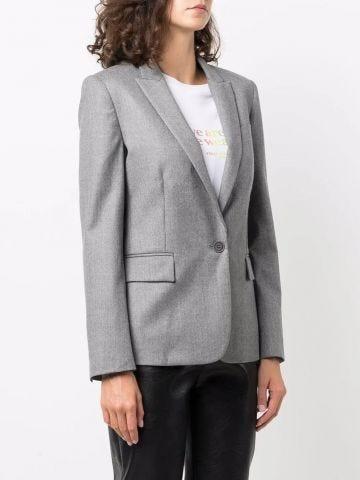 Charcoal grey Iris tailored jacket