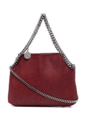 Red Mini Falabella shoulder bag