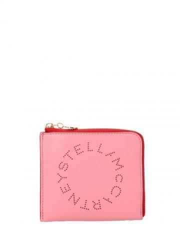 Stella logo two-tone card holder
