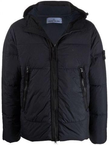 Blue Crinkle Repscon down jacket