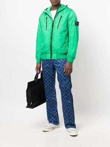 Green zipped jacket