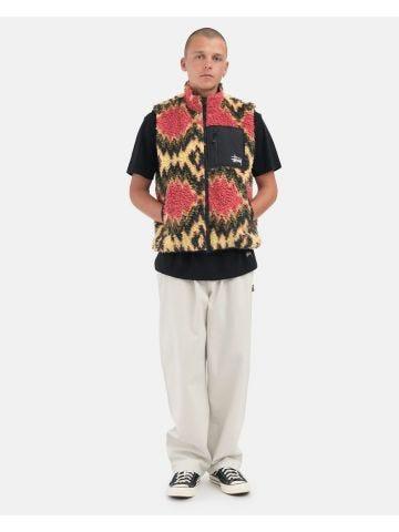 Multi-pocket multicolor vest