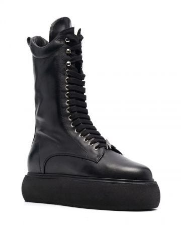 Selene flat medium boots