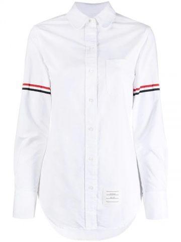 White RWB tri-stripe shirt