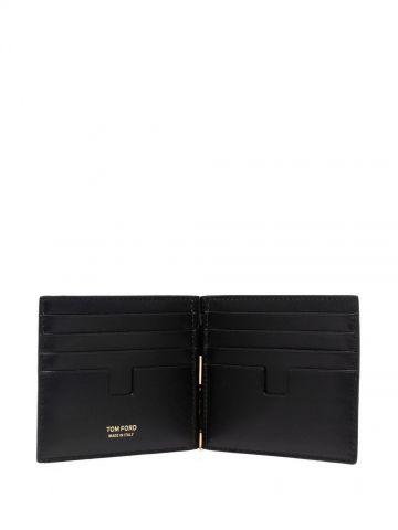 Snakeskin-effect wallet