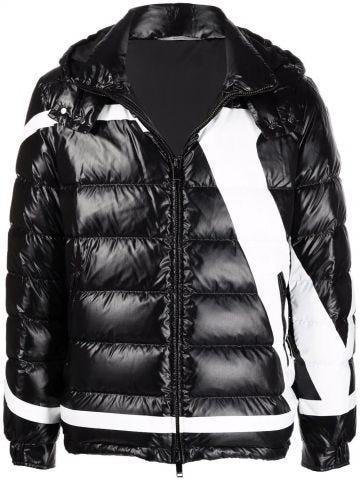 Black VLogo Signature down jacket