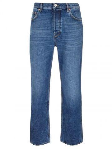 Blue denim cotton  jeans