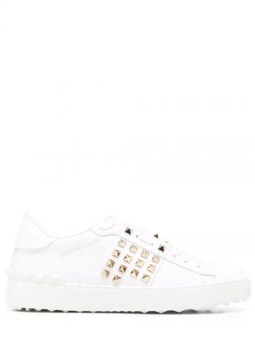 White Rockstud sneakers