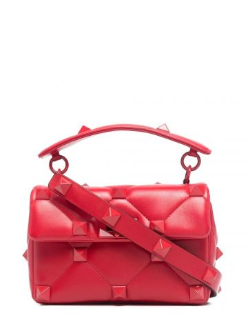 Red Roman Stud The Shoulder Bag medium bag