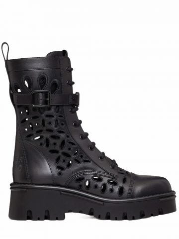 Black Atelier Shoes 08 San Gallo Edition Combat Boot 50MM